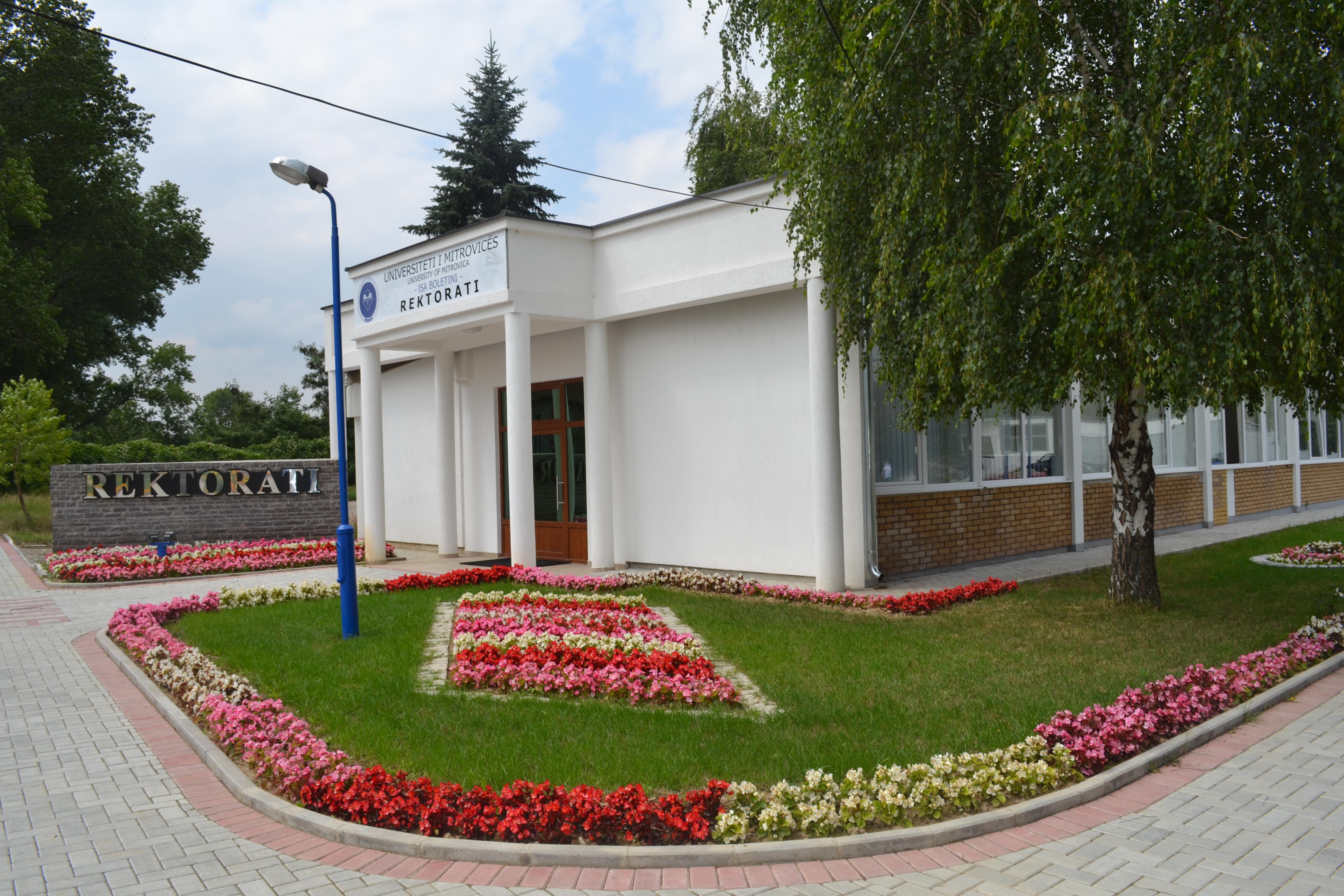 Oborri I Rektoratit Të UMIB-it