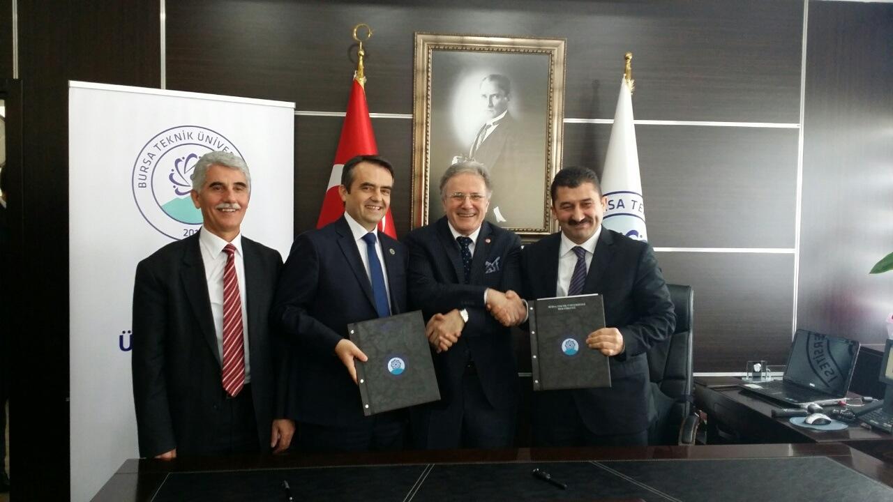 Marrëveshje Bashkëpunimi Me Universitetin E Burses (2015)