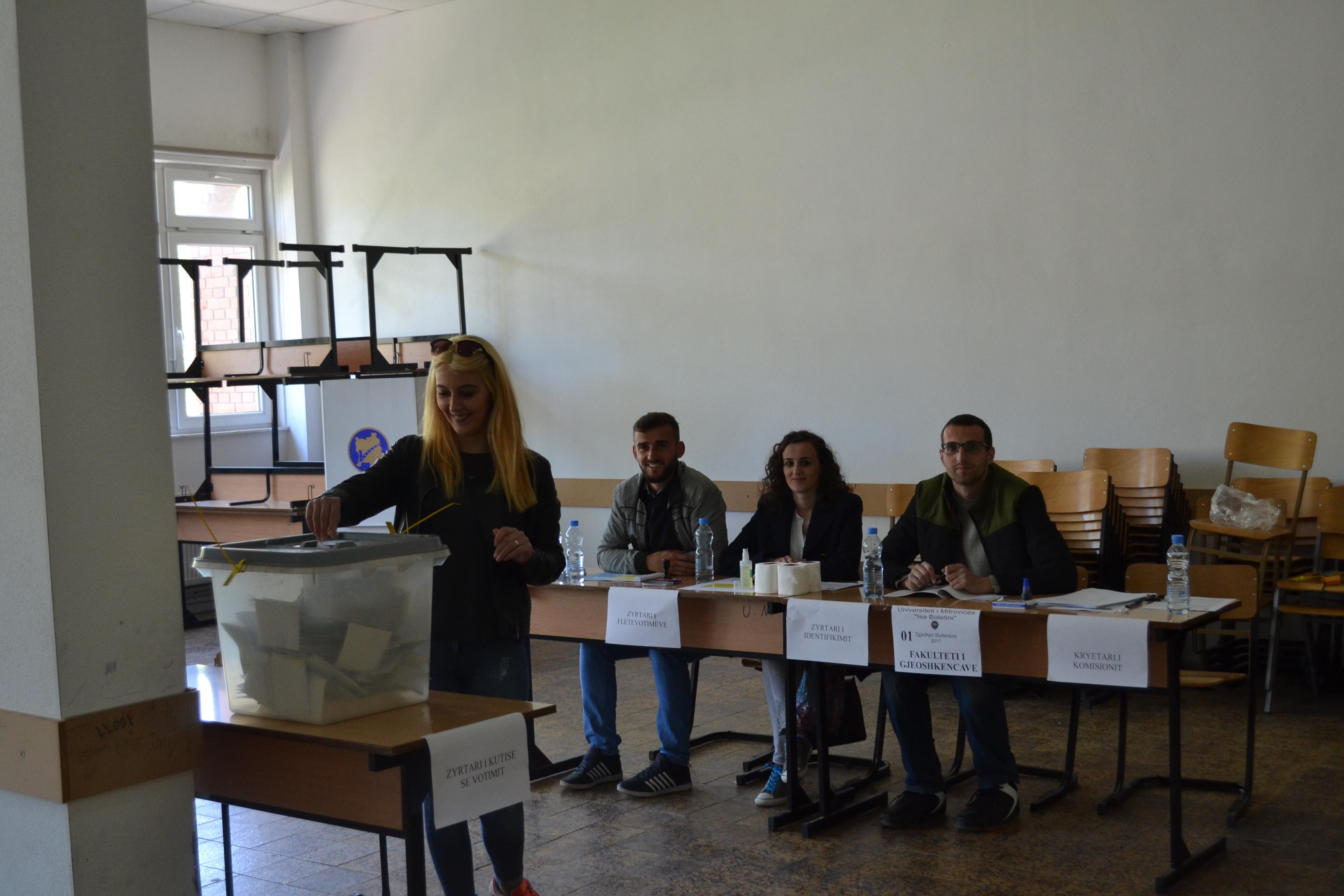 Zgjedhjet E Studentëve