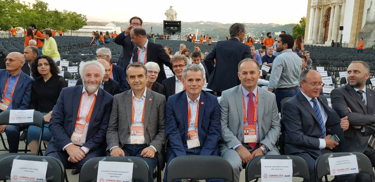 Rektori Musaj, Mori Pjesë Në Konferencën E Rektorëve Në Portugali, Ku U Diskutua Për Sportin Universitar