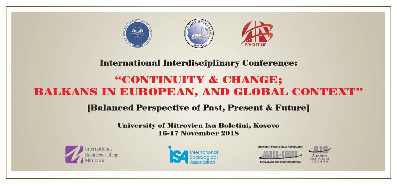 The Organization Of The International Interdisciplinary Conference