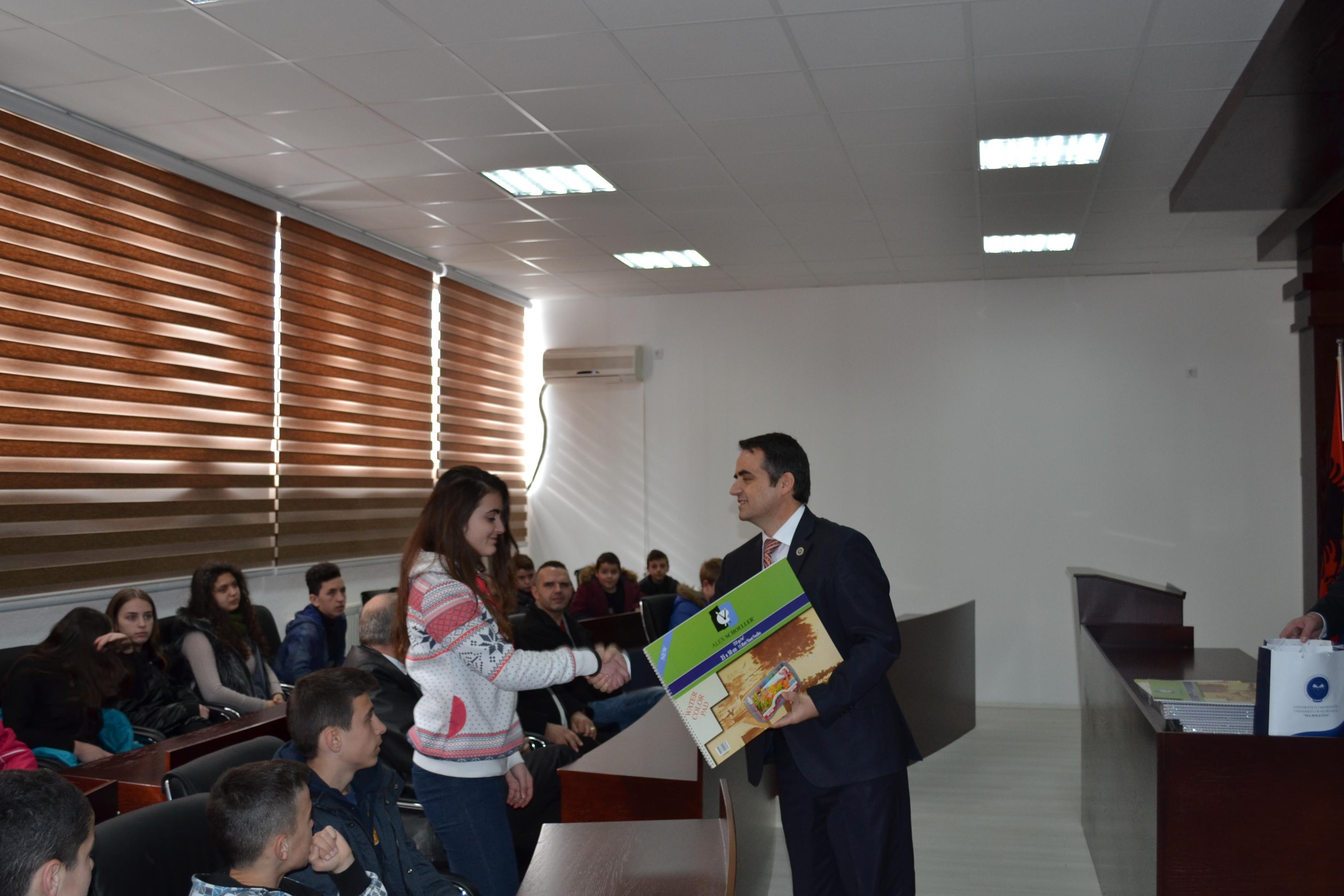 Rektori Më Nxënës Mitrovicas