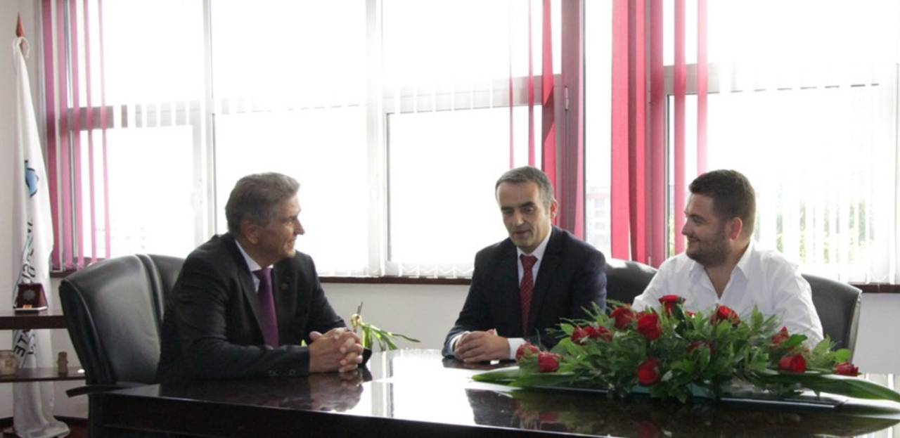 Rektor Musaj, Had A Meeting With The New Rector Of The South East European University