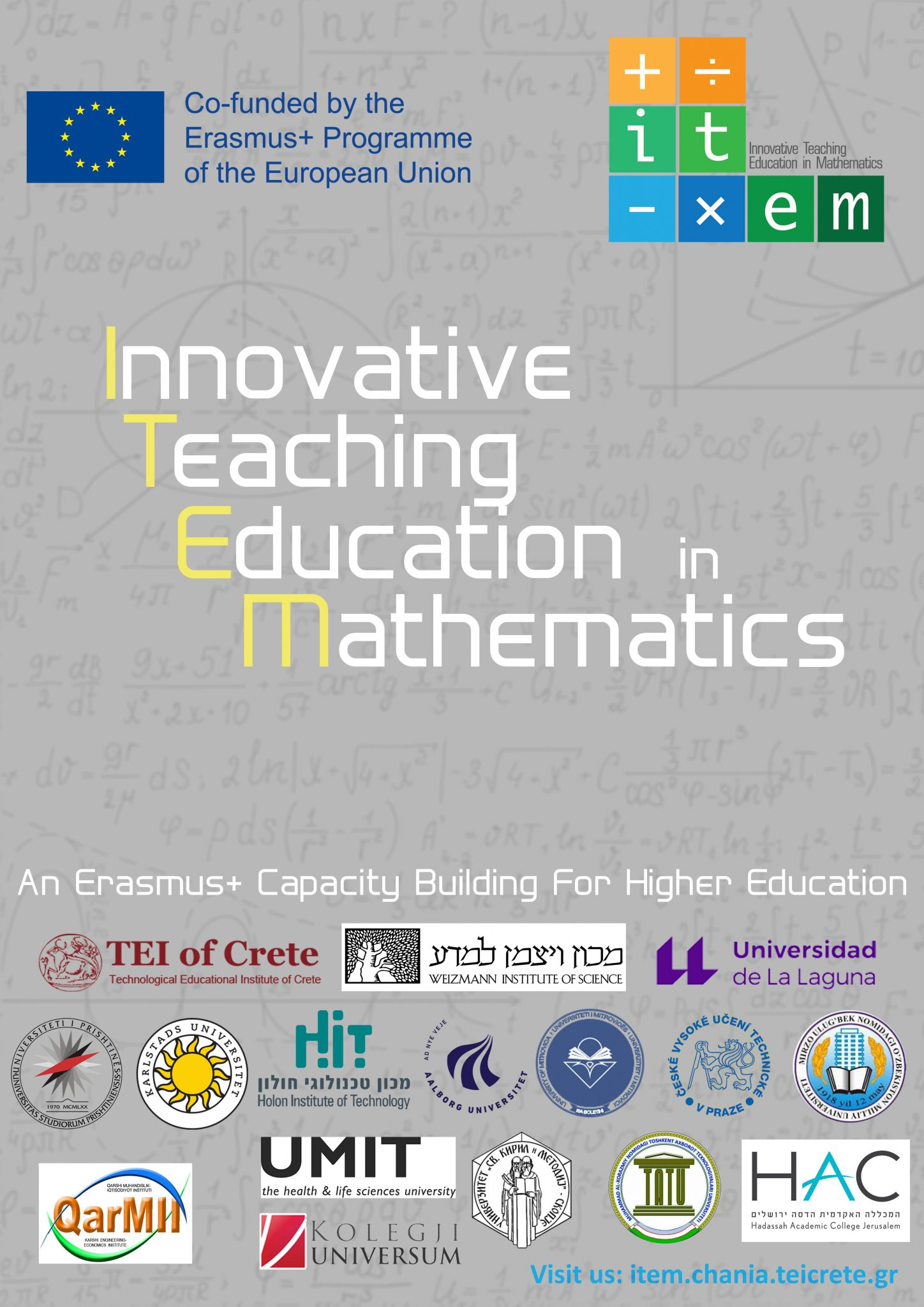 Innovative Teaching Education In Mathematics -ITEM