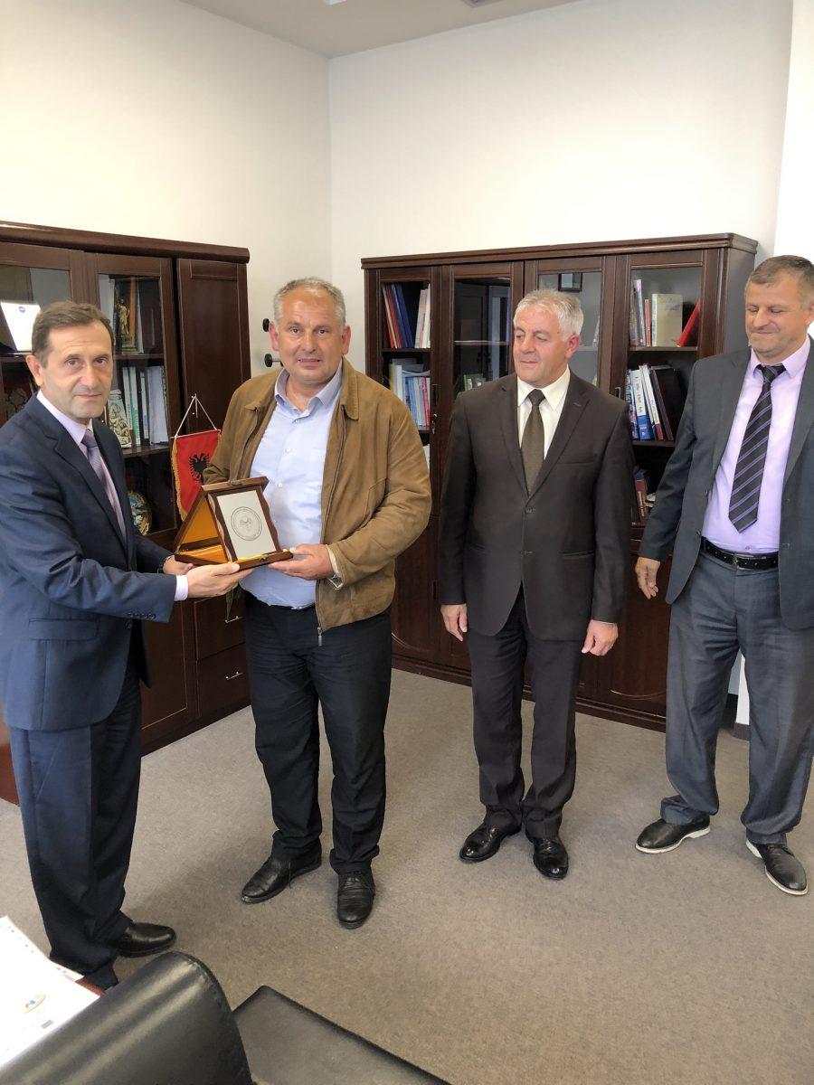 Memorandum bashkëpunimi ndërmjet FTU-së dhe Shoqatës së Verëtarëve të Kosovës