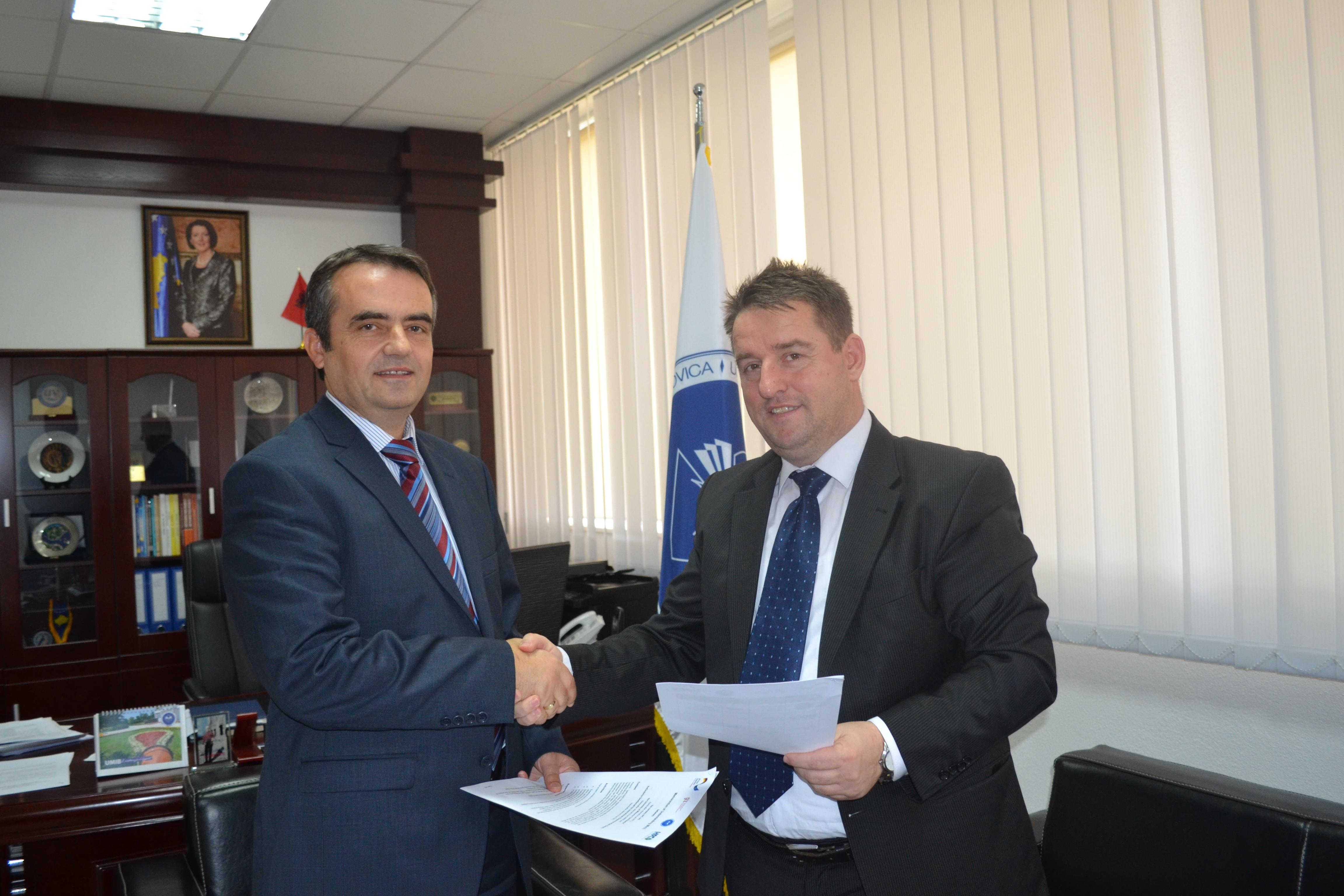 Rektori Musaj Dhe Menaxheri Ahmeti