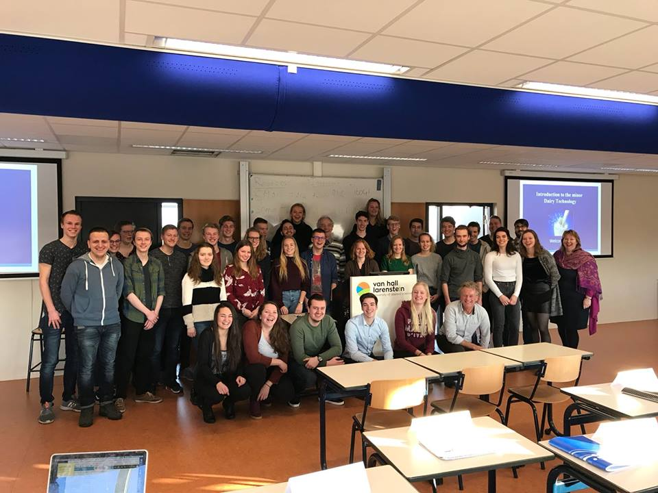 Students From Holland Visited The Faculty Of Food Technology