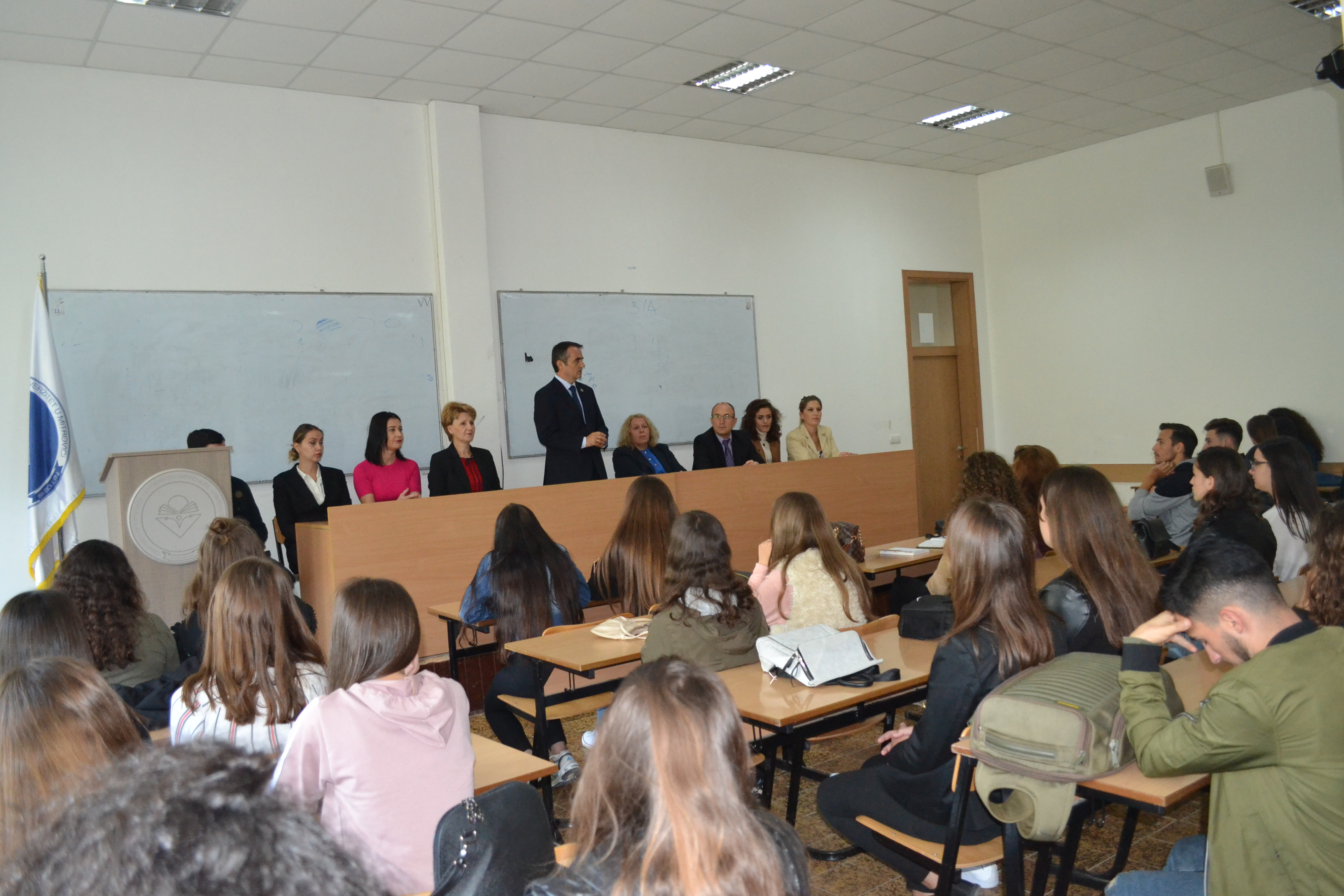 Rektori Musaj, Uron Studentët Dhe Stafin Për Vitin E Ri Akademik
