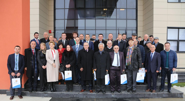 """U ndanë mirënjohje për zhvillimin e jetës akademike dhe konsolidimin e Universitetit """"Isa Boletini"""""""