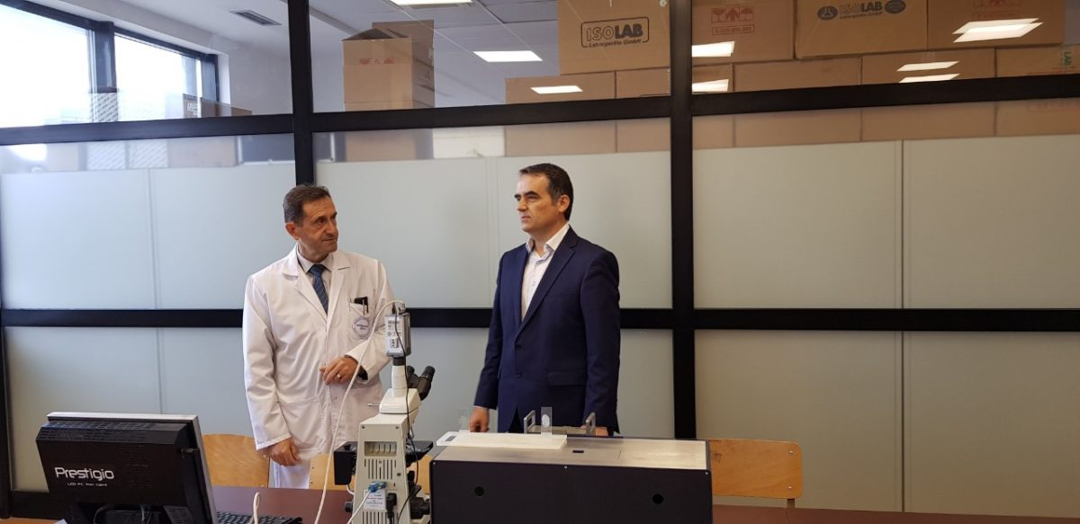 Rektori Musaj vizitoi laboratorët e FTU-së