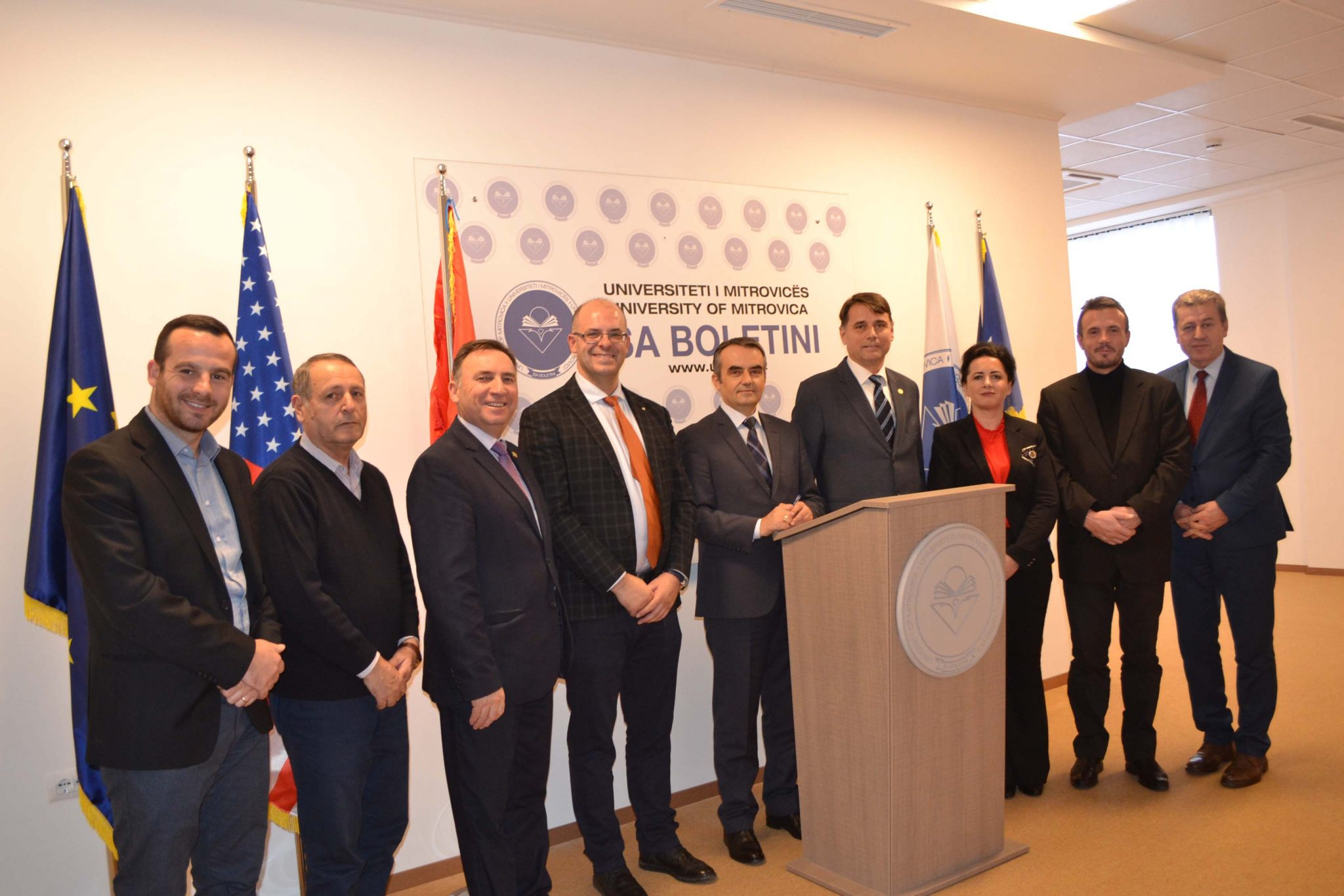Marrëveshje Bashkëpunimi Me Universitetin E Gjilanit (dhjetor 2018)