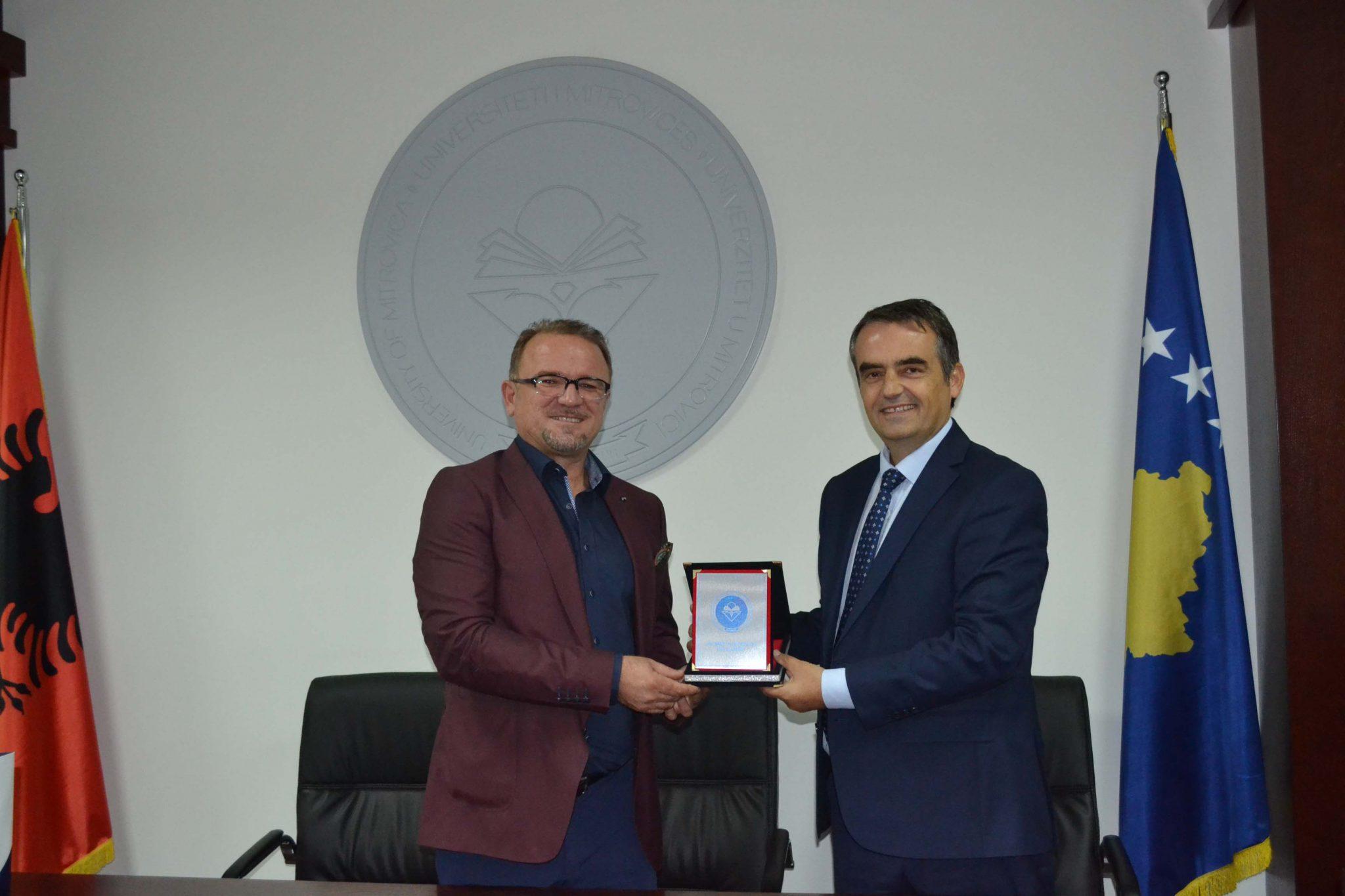 Marrëveshje Bashkëpunimi Me Universitetin E Tetovës (tetor 2017)