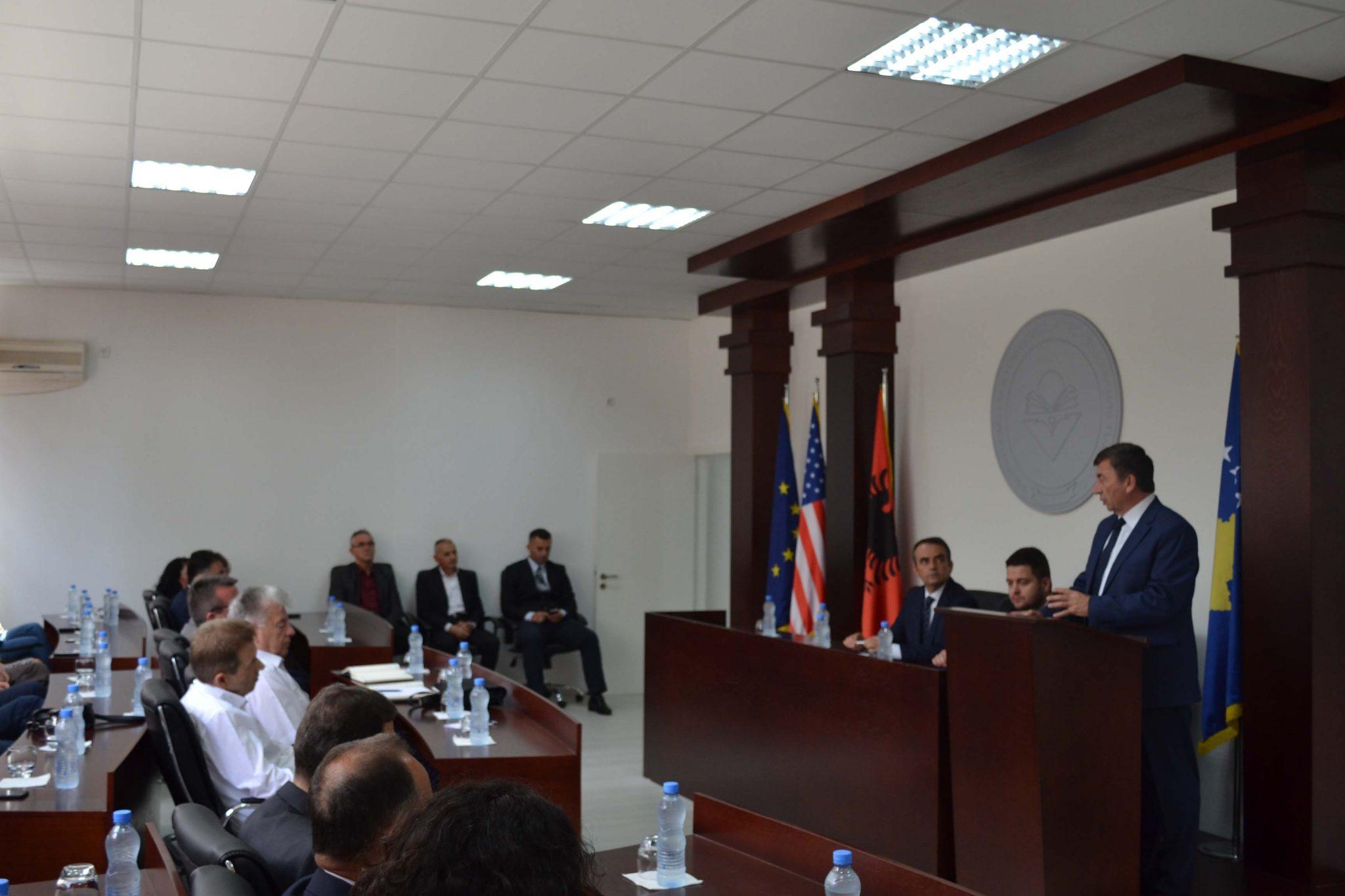 Ministri I MASHT-it, Arsim Bajrami (qershor 2017)