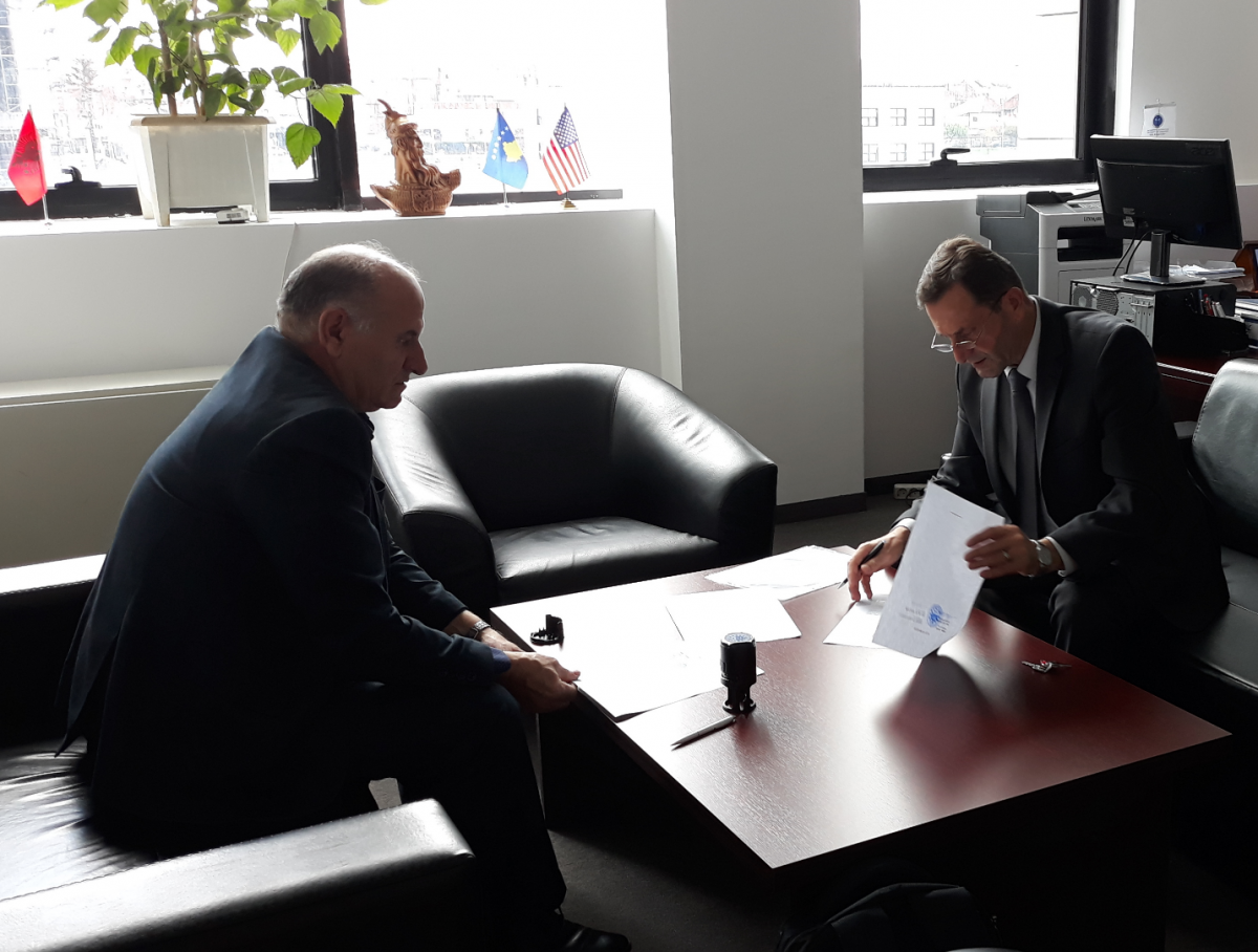 Memorandum of Understanding between Faculty of Food Technology and Association of Kosovo Dairy Industries