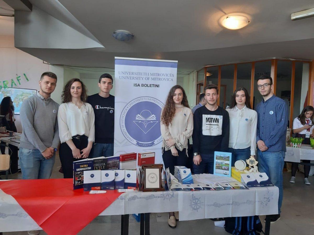 Studentët përfaqësojnë UMIB-in në Panairin e Shkencës dhe Teknologjisë